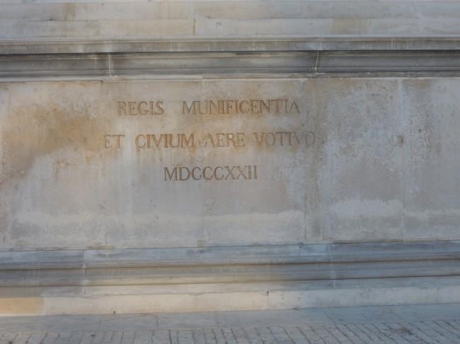 Inscription de 1822