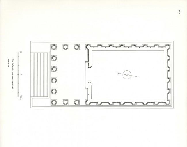 Plan du temple