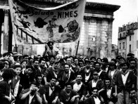 Torero porté en triomphe, années 1960