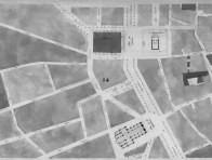 Plan des alignements de la ville de Nîmes
