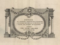 Recueil des principales antiquités de la ville de Nîmes