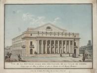 Vue de la nouvelle salle de spectacle de Nismes