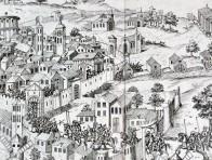 La surprinse de la ville de Nismes (détail)