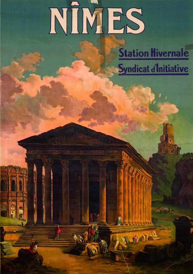 Nîmes. Station hivernale