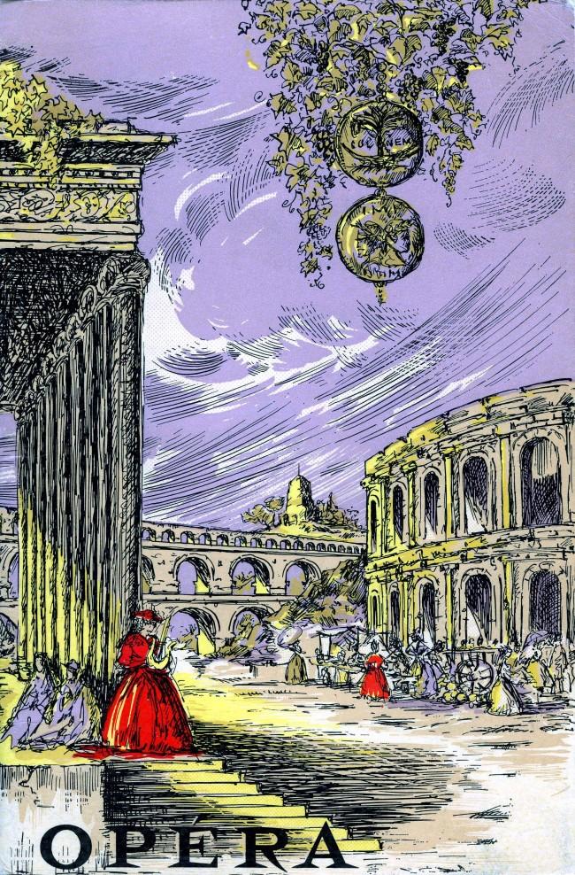 Programme du théâtre municipal de Nîmes, 1969-70