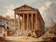 La Maison Carrée à Nîmes
