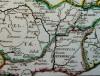 Gallia ad C. I. Caesaris commentaria de Bello gallico (détail)