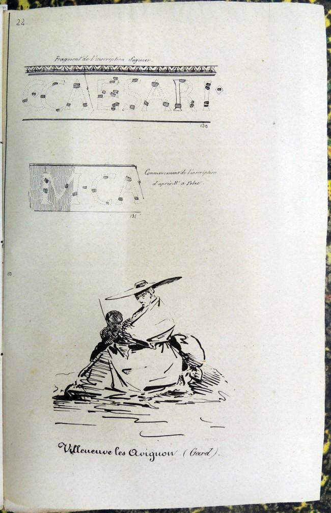 Fragment de l'inscription Séguier