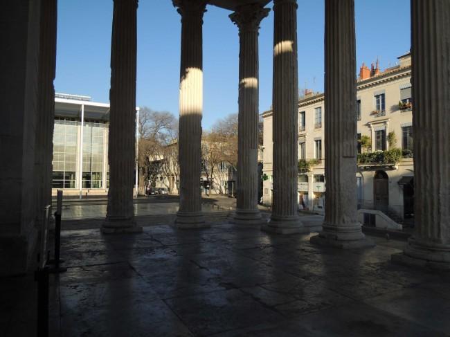 Les colonnes du pronaos