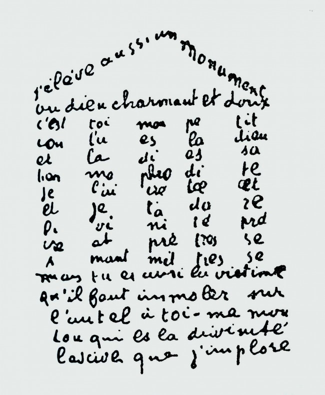 Poème du 9 février 1915