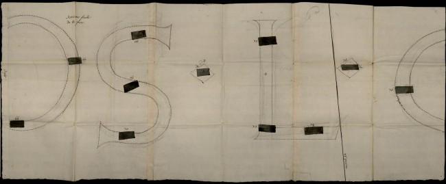 inscription de la frise 6 la maison carr e. Black Bedroom Furniture Sets. Home Design Ideas