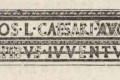 Restitution de l'inscription de la Maison carrée de Nîmes
